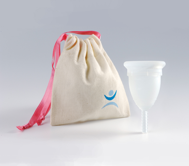 Mooncup menstrual cup Clear Size A