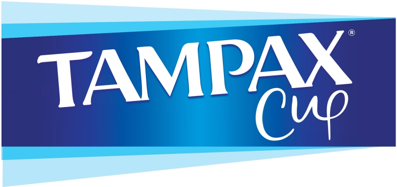 Tampax Cup Logo