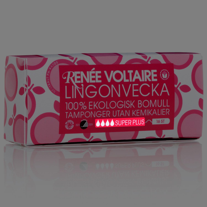 Renée Voltaire Lingonvecka Tamponger Super Plus