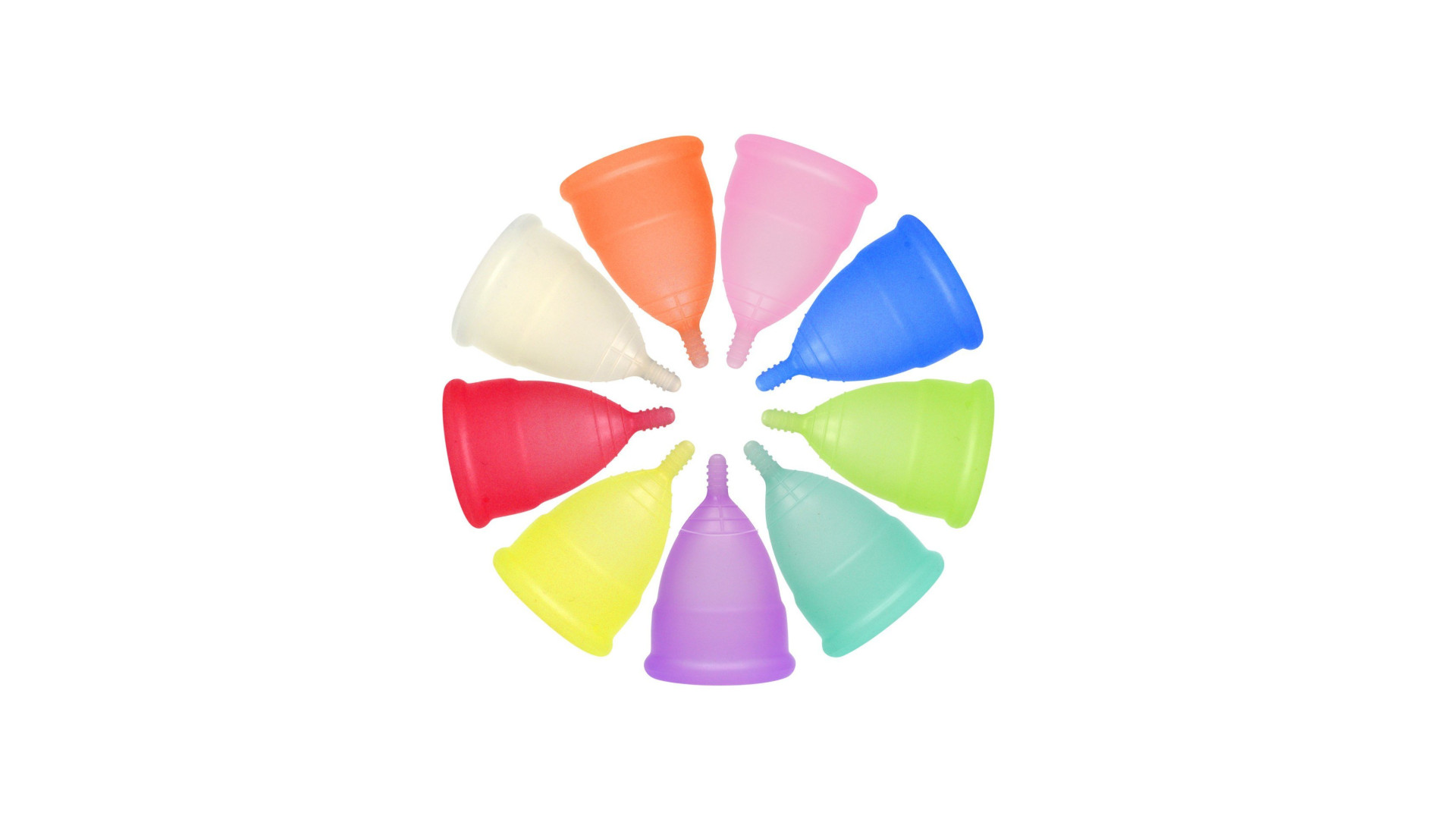 Menstrual cup colors