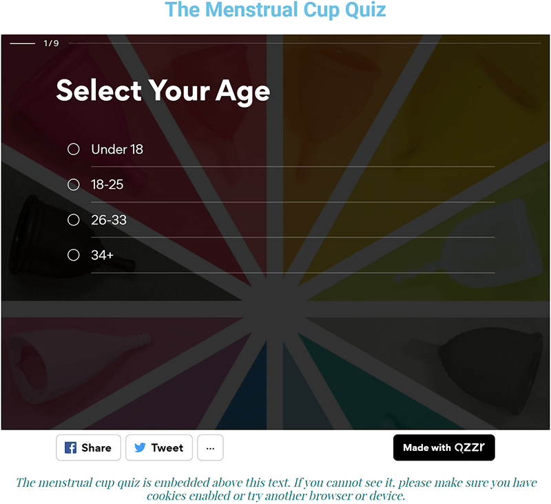 Put A Cup In It: The Cup Quiz Question 1