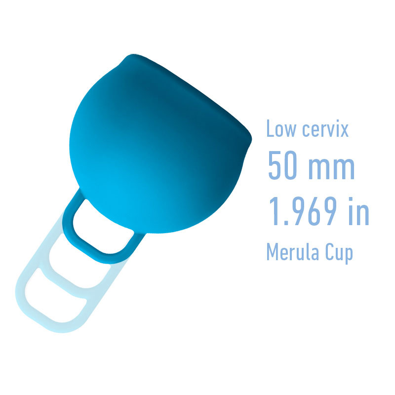 Merula Cup One-Size for a Low Cervix