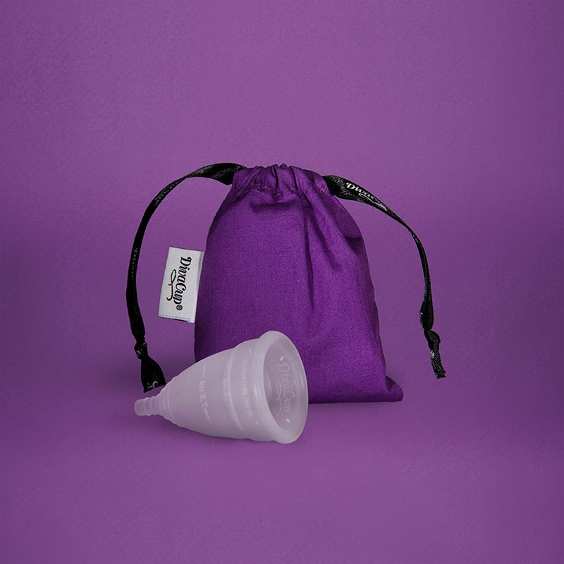 DivaCup Menstrual Cup With Bag