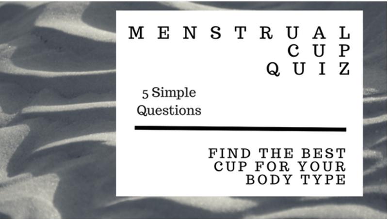 Reusable Menstrual Cups: Menstrual Cup Quiz Landing Page