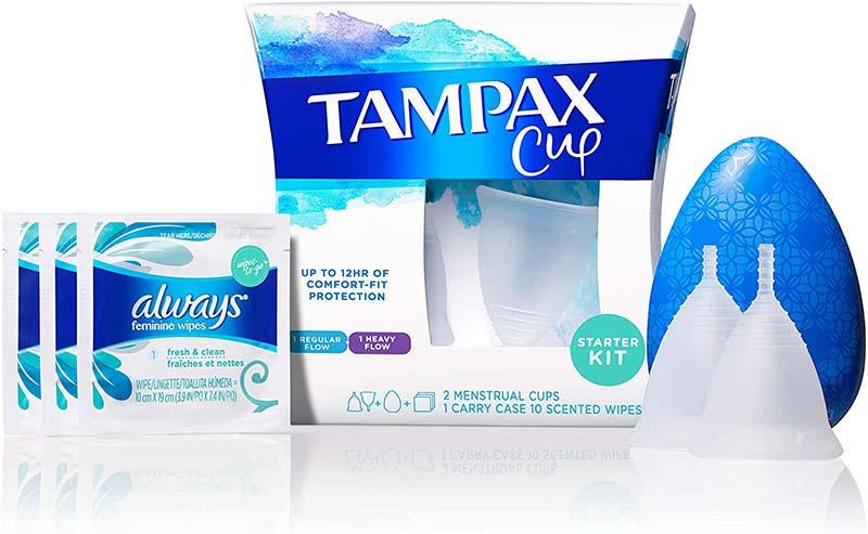 Tampax Cup Starter Kit