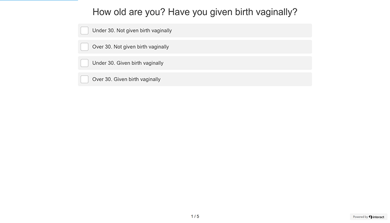 Reusable Menstrual Cups: Menstrual Cup Quiz Question 1
