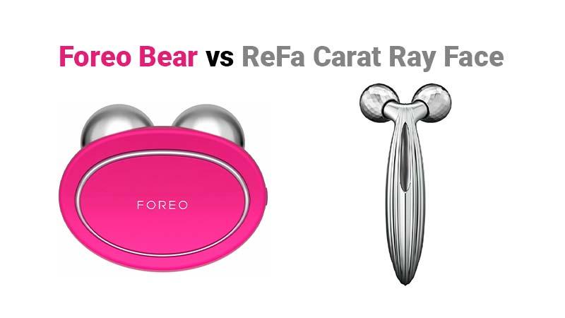 foreo-bear-vs-refa-carat-ray-face