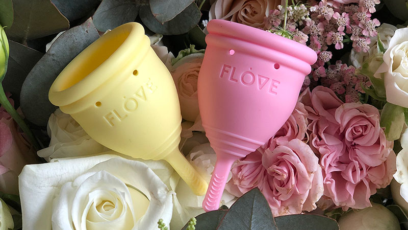Flove menstrual cup