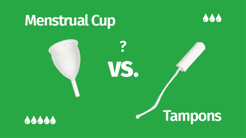 Menstrual Cup vs Tampons