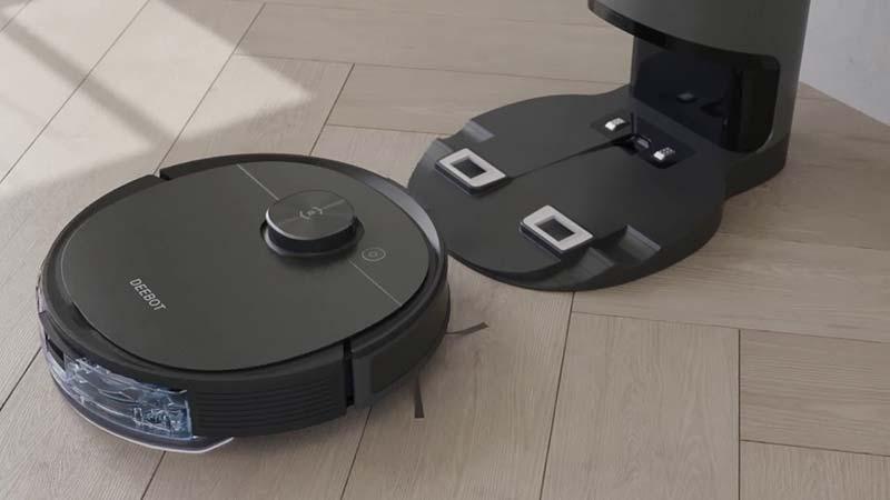 ECOVACS DEEBOT OZMO T8 AIVI Vacuum Cleaner & Mop
