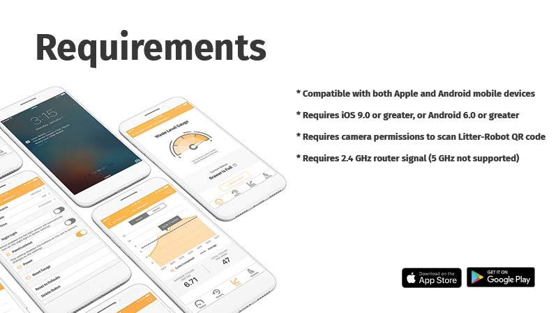 Litter-Robot 3 Connect App