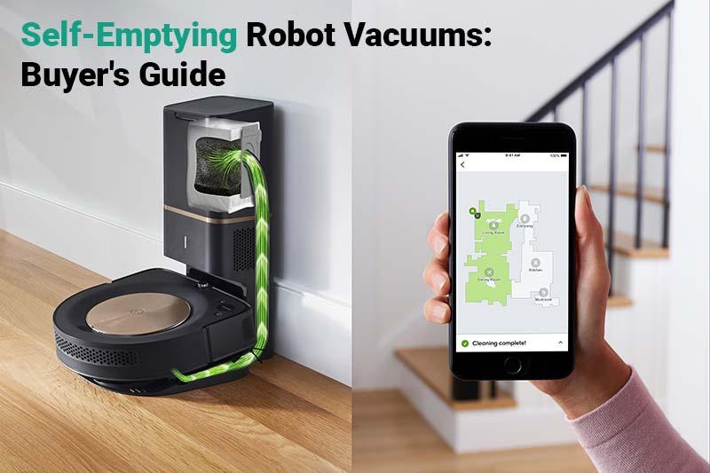 Self-Emptying Robot Vacuums: Buyer's Guide