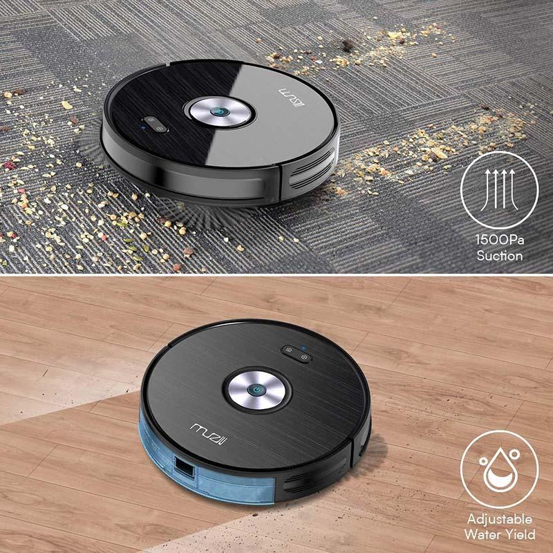 Muzili Robotic Vacuum Cleaner and Mop