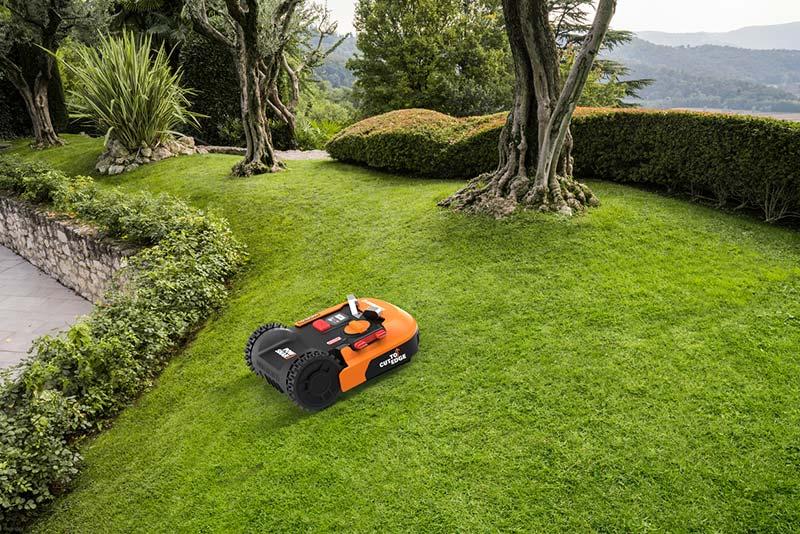 Worx wr140 landroid m 20 v cordless robotic lawn mower